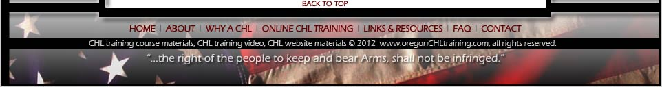 Best Online CHL Training for Oregon CHL is offered by OregonCHLTraining.com